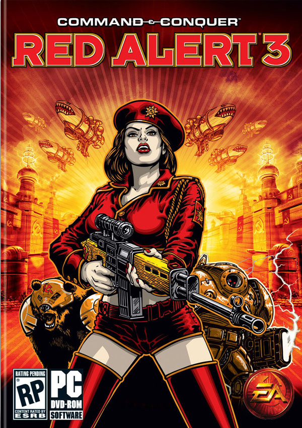 Command & Conquer Red Alert 3 Download Cover Free Game
