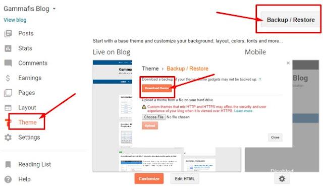 Cara Mengganti Template Blog Agar Tidak Dibanned Google Adsense