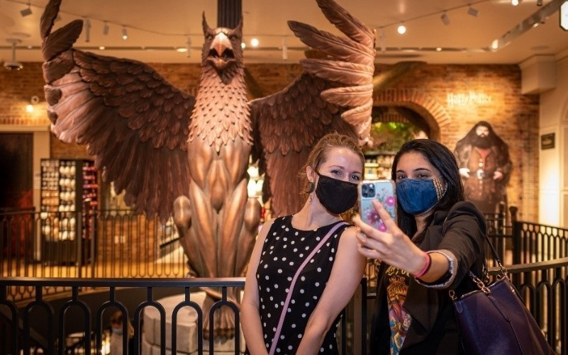 The World's Only Harry Potter Flagship Store Welcomes Fans Through The Doors For The First Time
