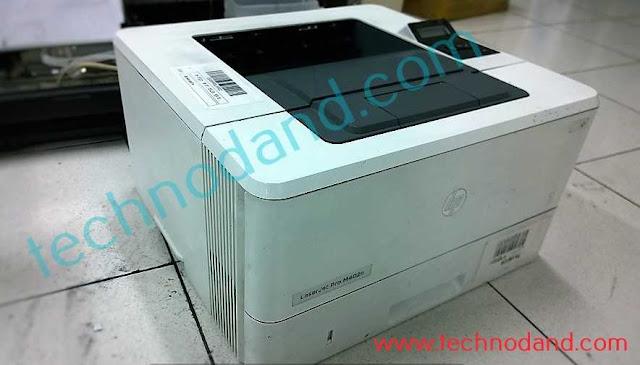 Printer LaserJet Hp Pro M402n Error Paper jam [ kertas tertarik miring ]