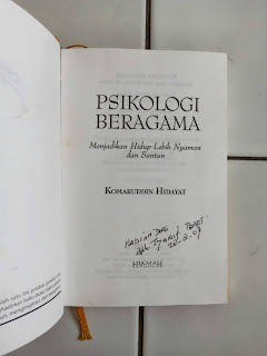 Psikologi Beragama Penulis Komaruddin Hidayat
