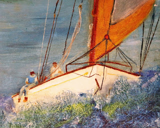 Original art Sailing HideAway