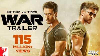 WAR (2019) Hindi + Telugu + Tamil Full Movies Download