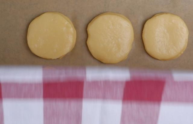 ascending donut dough