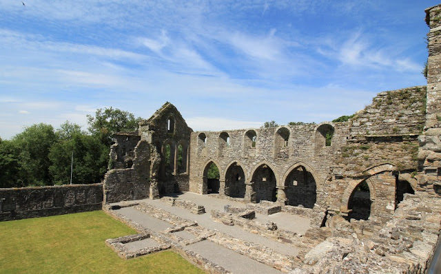 View from on Roof Jerpoint Abbey
