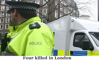 Four killed in London