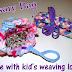 Use that weaving loom for something other than potholders! ~ Make Rosary Bags!