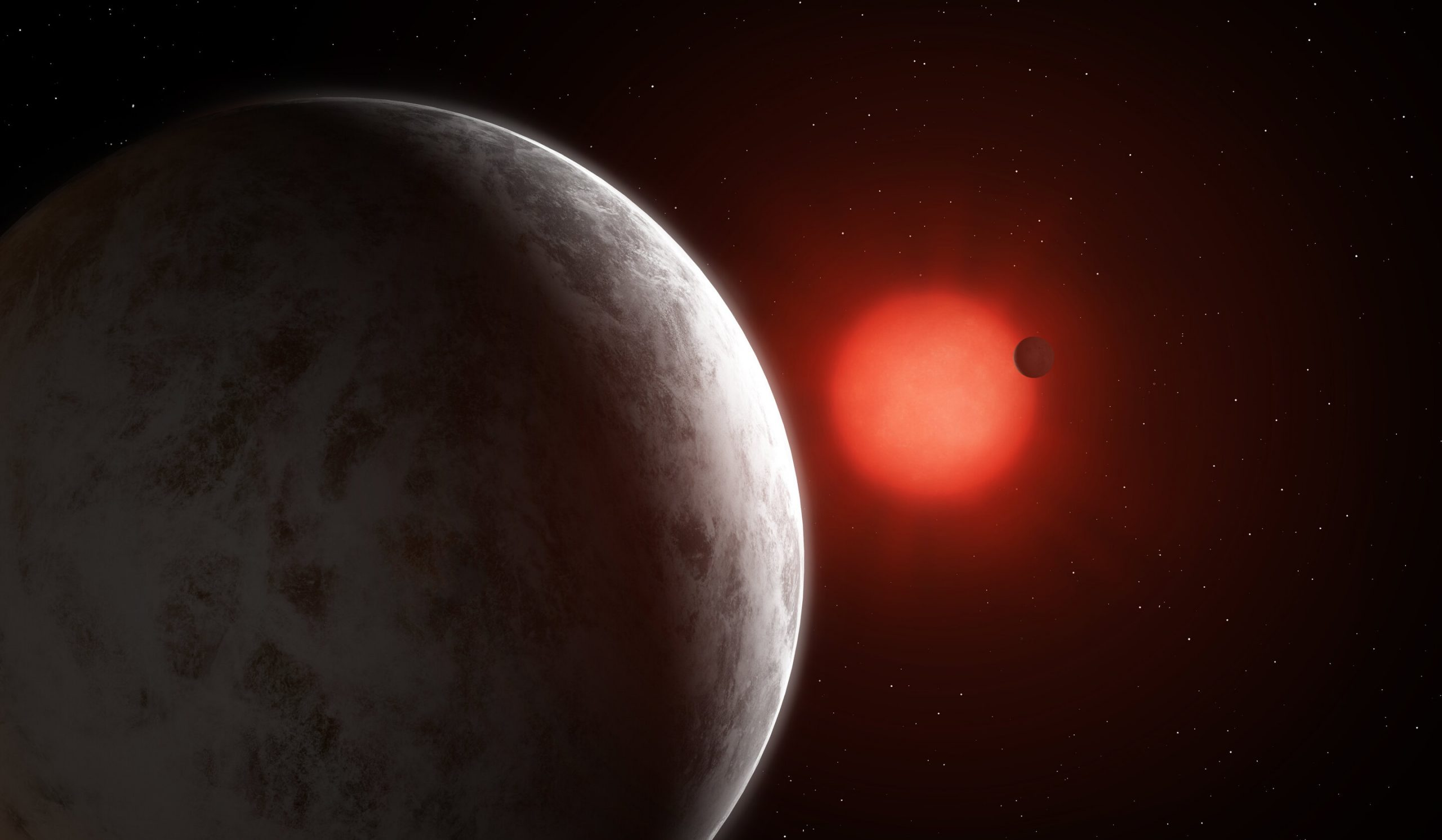 anã vermelha Gliese 887