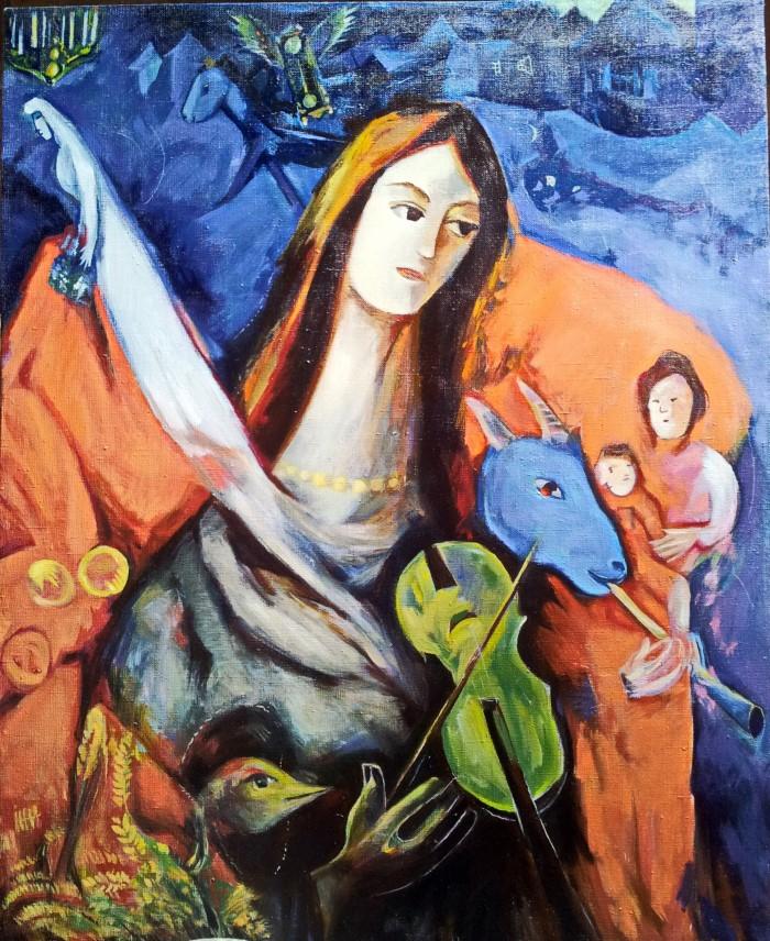 1945 г. Марк Шагал