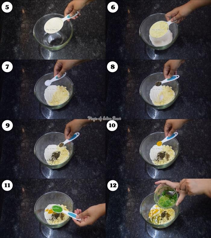 Fresh Methi and Besan Mathri Recipe - ताजी मेथी और बेसन की मठरी रेसिपी - Priya R - Magic of Indian Rasoi