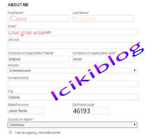 Cara Mendaftarkan Blog ke Bingwebmaster Tool