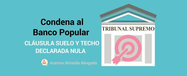 Acerina almeida abogada for Clausula suelo tribunal supremo hoy
