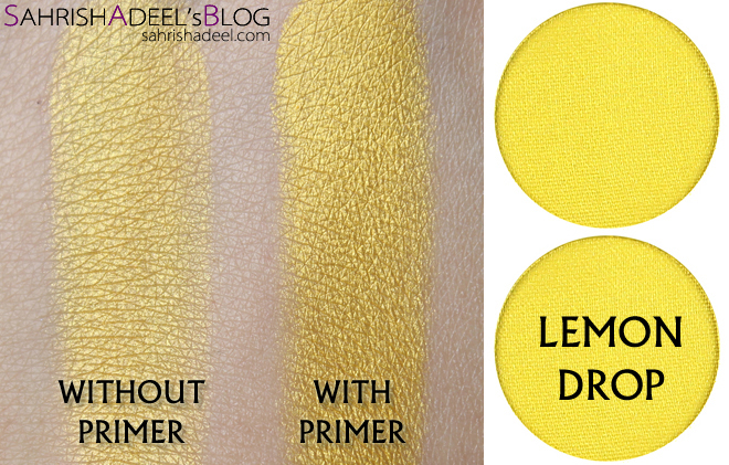 Makeup Geek Pressed Eyeshadows - Lemon Drop