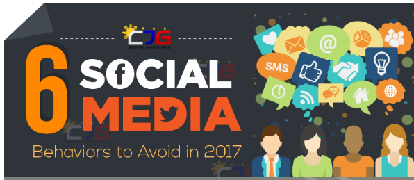 6 Social Media Behavious to avoid