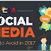 Infographic - Avoid these 6 Social Media Behaviors this year