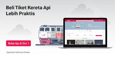 Tiket Kereta Api Murah dari Situs Online di Bukalapak