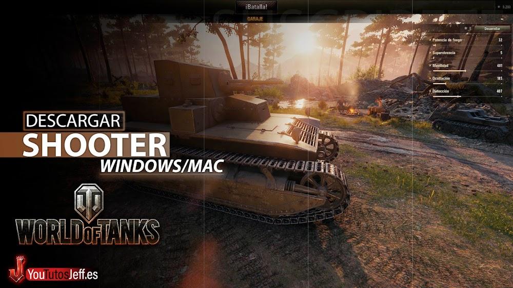 Shooter de Tanques, Descargar World of Tanks para PC Gratis Español