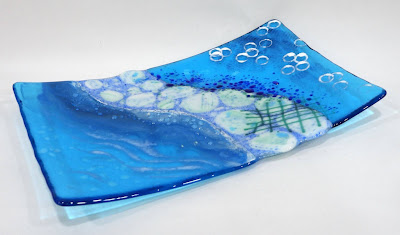 picture of blue ocean-inspired platter