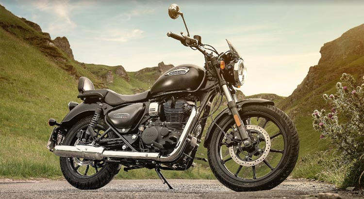 Royal Enfield the all-new Meteor 350