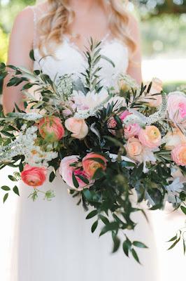 spring color bridal bouquet