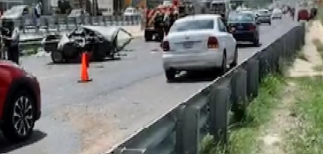 Muere familia de 5 personas en accidente automovilístico, incluido un bebé