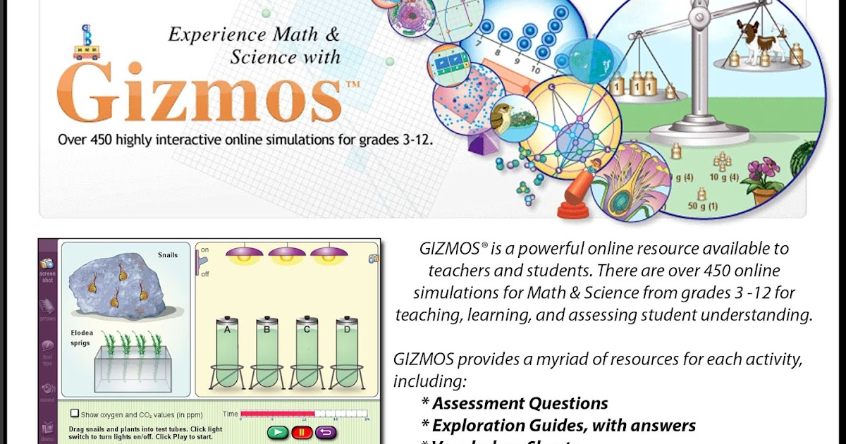 Switch On LEARNING!: Two Great new GIZMOS
