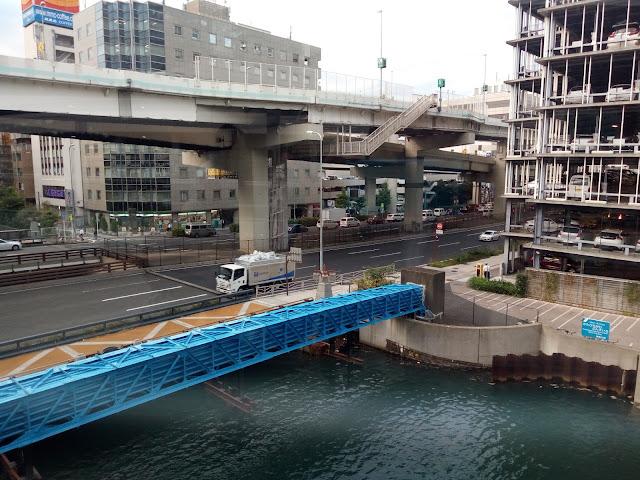 横浜 川 立体橋 高速道路 構造体