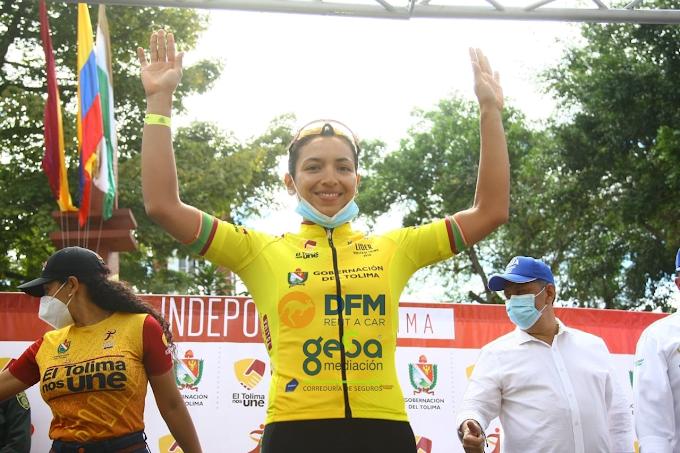 Yenifer Ducuara ganó la Vuelta al Tolima en Colombia