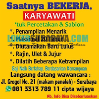 Walk In Interview Surabaya Juli 2019 di CV. Kita Happy Terbaru