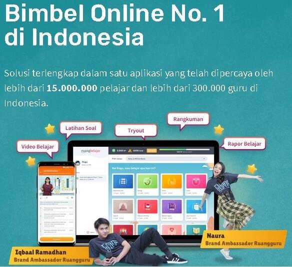Bimbel Online di Ruangguru.com Bikin Ngerti Banget