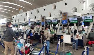 Calon Penumpang di Bandara Kualanamu Wajib Gunakan Aplikasi PeduliLindungi