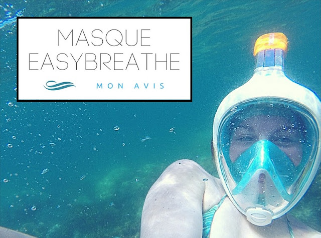 SPORT : Mon avis sur le masque Easybreathe de Décathlon ! www.by-laura.fr