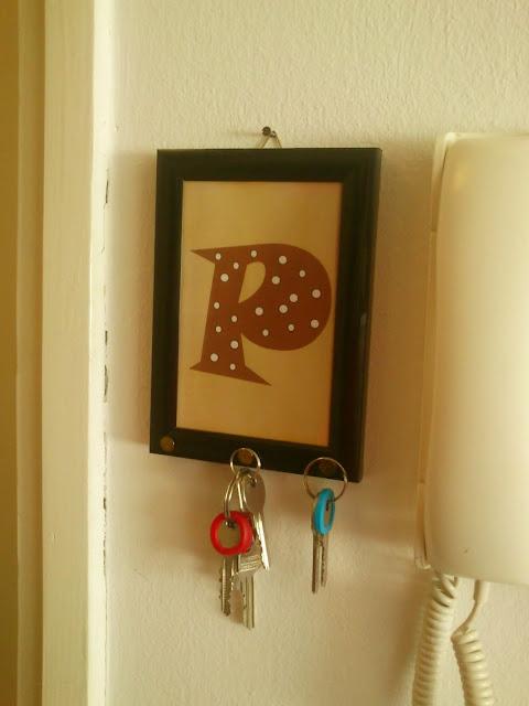 DIY držač ključeva