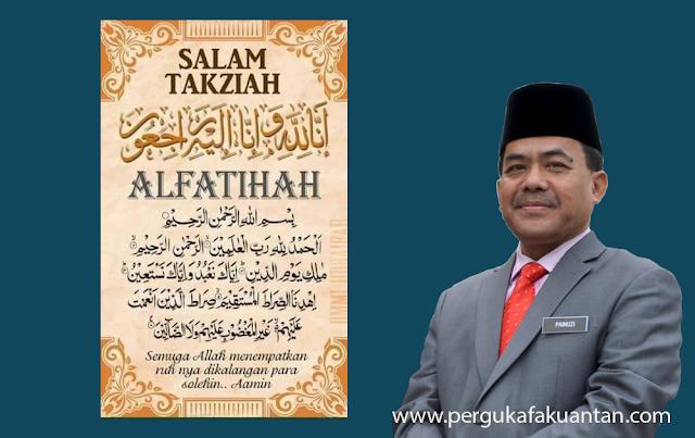 Al-Fatihah - Ketua Pengarah JAKIM Meninggal Dunia