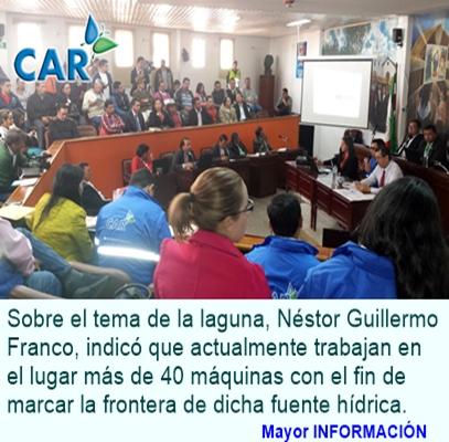CAR ASISTIÓ A CONCEJO MUNICIPAL DE CHIQUINQUIRÁ