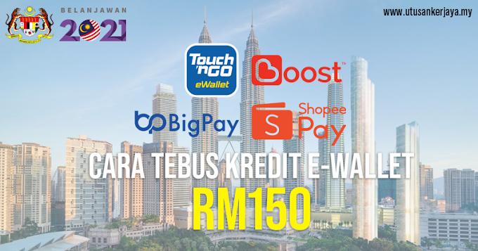 eBelia: Cara Tebus eWallet RM150 Bermula 1 Jun 2021