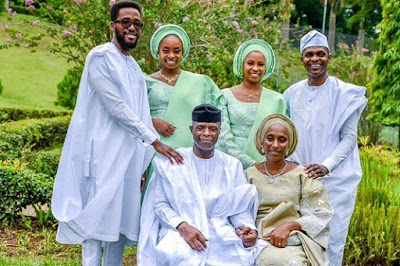 Vice president Yemi Osinbajo family photos