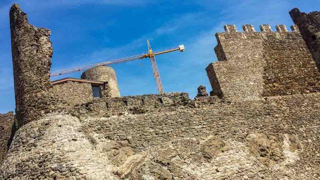 Restauración Castell de Montsoriu
