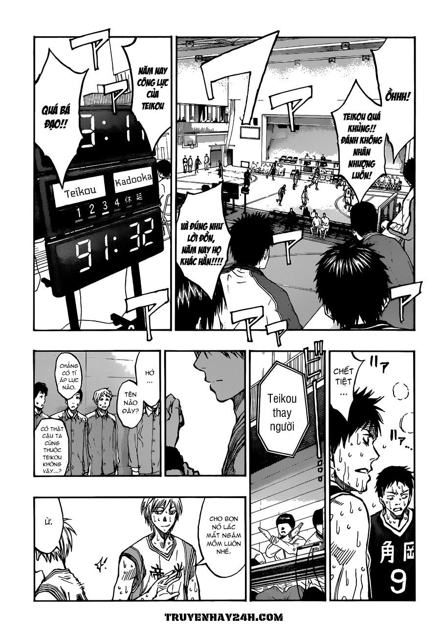 Kuroko No Basket chap 213 trang 16