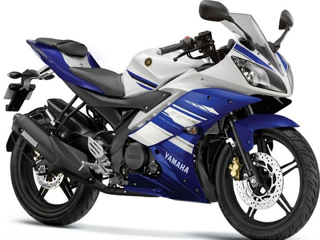 New 2017 Yamaha R15 V2.0 side look image