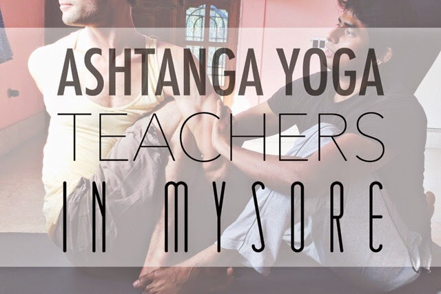 Best Ashtanga Yoga Teachers in Mysore