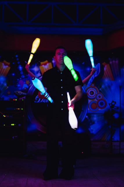 светодиодовое шоу