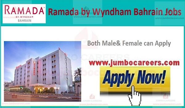 ramada hotel jobs bahrain