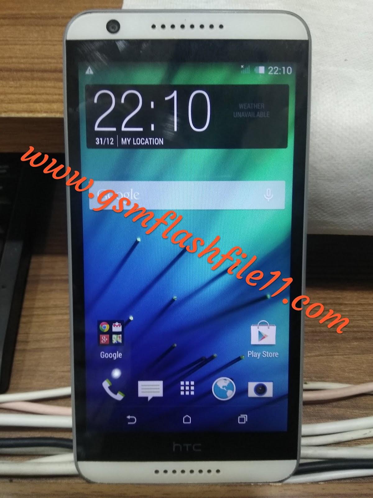 HTC Desire 820PI Flash File (MT6592) 4 4 Dead Recovery