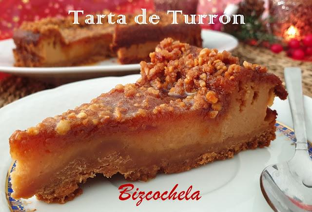 TARTA DE TURRON DE CACAHUETE