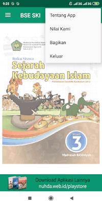 Aplikasi Buku Siswa Sejarah Kebudayaan Islam Kelas 3 MI Kurikulum 2013 Revisi 2016