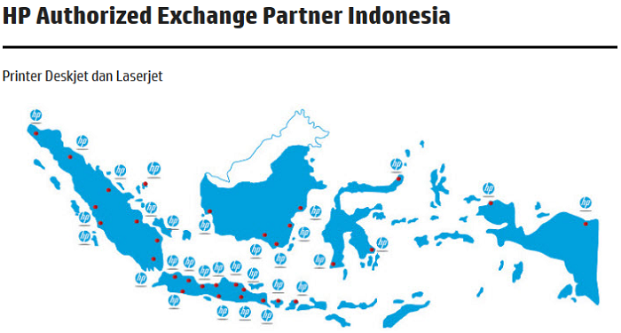 Alamat HP Authorized Exchange Partner Indonesia