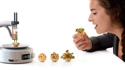 الطباعة ثلاثية الابعاد في الغذاء