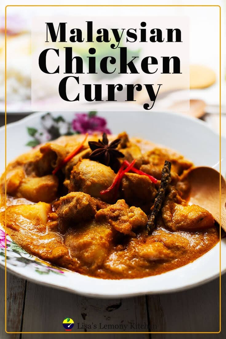 Malaysians love their Kari Ayam or chicken curry. And Cooking Malaysian Chicken Curry using Instant pot is so much easier and faster.  Using spices and premixed curry powder, this  delicious chicken curry is ready to be served  within 30 minutes (once the pressure in the Instant pot starts to build up)  Served Malaysian chicken curry with either steamed rice or flat bread known as paratha.