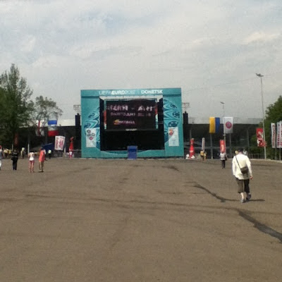Donetsk Fan Zone, Ukraine